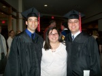 Me and my graduated boys